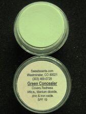 MINERAL MAKEUP~5 gram~LOOSE POWDER~MICA~HIDE REDNESS~BARE~VEGAN~GREEN CONCEALER