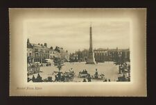 Yorkshire Yorks RIPON Market Place c1900/10s? PPC by Valentine