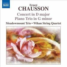 Chausson: Concert in D Major; Piano Trio in G Minor, New Music