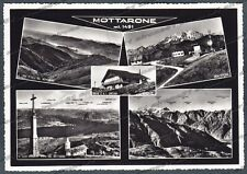 VERBANIA NOVARA MOTTARONE 118 VEDUTINE Cartolina FOTOGRAFICA viaggiata 1964
