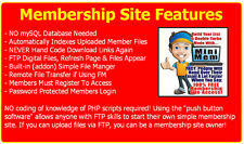 Easily Create Membership Sites For List Building, Giveaways, Paid Content, Fun
