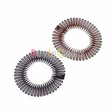 New Stretch Plastic Circle Hair Band Full Flexible Comb Headband Clip SA