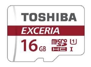 Toshiba16GB EXCERIA M302 MicroSD - THN-M302R0160EA