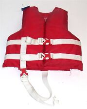 Coleman Stearns Life Jacket Type III PFD ~ Youth 30-50 Lbs ~ Red
