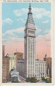 New York Metropolitan Life Insurance Bldg ngl 204.311