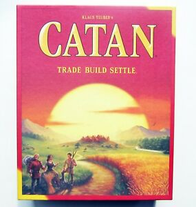 NEW Catan 5th Ed Replacement Parts Cards Tiles Tokens Roads Pieces (Settlers of)