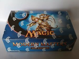 Magic The Gathering Modern Masters 2015 Sealed Factory Display Box 24 Boosters