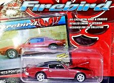 Johnny Lightning 1973 Pontiac Firebird Formula SD 455 Red 1:64 Scale Diecast