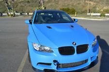 MATTE BLUE COLOR CAR VINYL WRAP FILM STICKER DECAL 30 METERS X 1.52 METERS