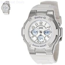 Women's BGA110-7B Baby-G Shock-Resistant White Sport Watch New