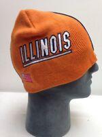 ILLINOIS Football Helmet Beanie Hat Skin U Of I Winter Hat Skull Cap ILLINI NCAA