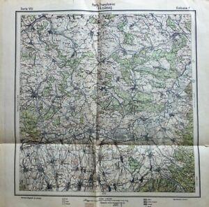 Harta Transilvaniei Fagaras Rumanien Landkarte Romania old map.
