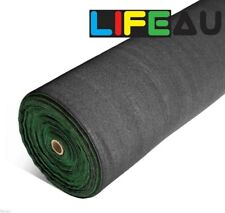70% BLACK Shadecloth 3.66m x 4m Domestic Heavy Duty Shade Cloth 175GSM