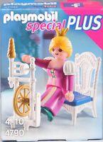Playmobil Special Plus 4790 Prinzessin mit Stuhl und Spinnrad für Schloss NEU