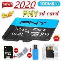 PNY high speed U3 Elite - X Class10, 1024GB MicroSDXC Card+Card reader,Brand New