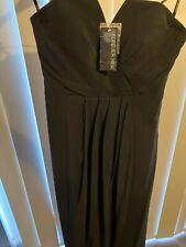 Forever New Izzy Strapless Split Front dress size 10 Formal Dress BNWT