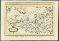 More details for 1749 original antique map - china tibet grand thibet gobi tartar mogul (21)