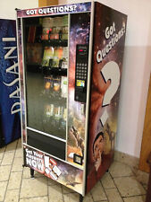 Vending Machine For Snacks Or Dvds Four Selling Racks Cc Reader Included