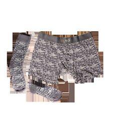 Related Garments 'The Camo' - Camo Boxer Brief + No Show Sock + Dress Socks