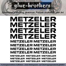 METZELER Aufkleber Set Motorrad-Reifen Moto Gabelaufkleber Schriftzug Sticker