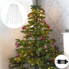 LED Lichterkette Christbaum mit Ring-Überwurf Outdoor 192 - 320 LED 16 Girlanden