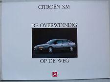 Prospekt Citroen XM 2 LTR/v6 para la premiere, 1989, 10 páginas, holandés