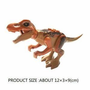 Jurassic Park World Dinosaur Mini figure Building Blocks Fit Lego Toys
