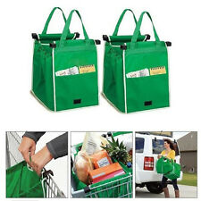 Pack Shopping Bags Eco Foldable Tote Grocery Storage Portable Handbags