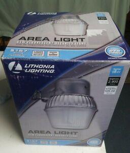 65-Watt CFL Wall-Mount Outdoor Gray Fluorescent Area Light