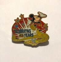 Mickey Mouse And Tinker Bell Celebrating Years Spinner Disney Pin (B4)