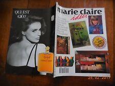 REVUE MARIE CLAIRE IDÉES N°10 - SEPTEMBRE 1993
