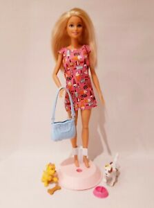 Vintage Barbie Fashion Doll - Barbie Doggy Day Care Doll #D2