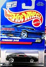 Hot Wheels - Ferrari 348 -  443#1996 carte courte
