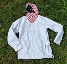 Airblaster Freedom Pullover Snowboard Ski Snow Sport Jacket Coat White Red S