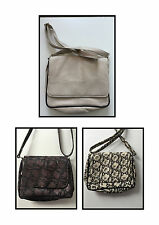 Markenlose Damentaschen aus Leder mit Außentasche (n)