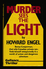 Howard Engel, Murder Sees the Light, Gollancz, 1985 - Benny Cooperman Mystery