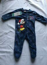 Mickey Mouse - Christmas Pyjamas - Up To 1 Month - Brand New