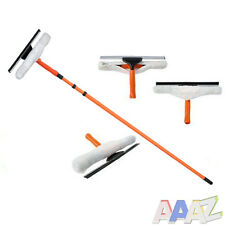 3.5m Telescopic Extendable Window Cleaning Cleaner Squeegee Glass Kit