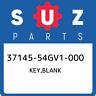 37145-54GV1-000 Suzuki Key,blank 3714554GV1000, New Genuine OEM Part