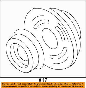 CHRYSLER OEM A/C AC Compressor-Clutch Plate & Hub Assy 5140426AA