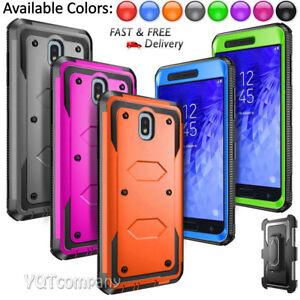 For Samsung Galaxy J7 V 2018 /Refine/Star/Crown Phone Case Armor / Clip Holster