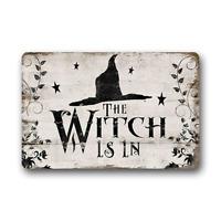 Home Decor Floor Mat The Witch Is In Non-Slip Rubber Indoor Outdoor Doormat