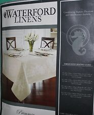 WATERFORD LINENS X-LARGE TABLECLOTH 70 X 144 OBLONG NEW SEATS 12-16