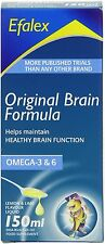 Efalex Omega 3 + 6 Food Supplement Lemon & Lime Flavoured Liquid 150ml