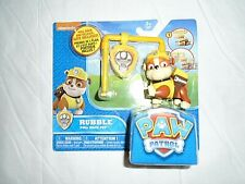 """Nickelodeon Paw Patrol Rubble Pull Back Pup """"NEW"""""""