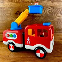 Large Early Learning Centre 142434 Whizz World Fire Engine Toy ELC Childrens Fwo