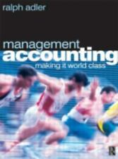 Management Accounting: making it world class-ExLibrary