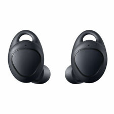 New Samsung Gear IconX SM-R140 Wireless Fitness Tracker Earbuds Headphones Black