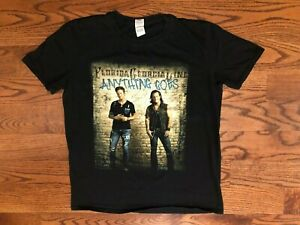 Florida Georgia Line Anything Goes Tour Short Sleeve Black T-Shirt Men's Large