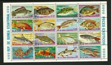 Equatorial Guinea 1973 - Exotic Fish (16) CTO